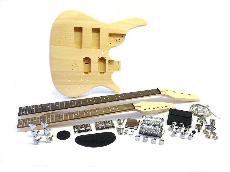 Bausatz Doppelhals Gitarre Bass