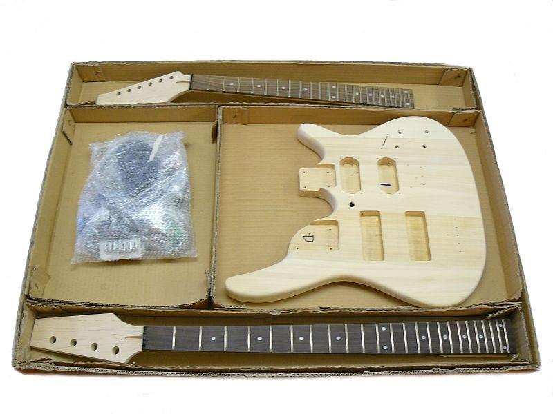 Doppelhals Gitarre Bass