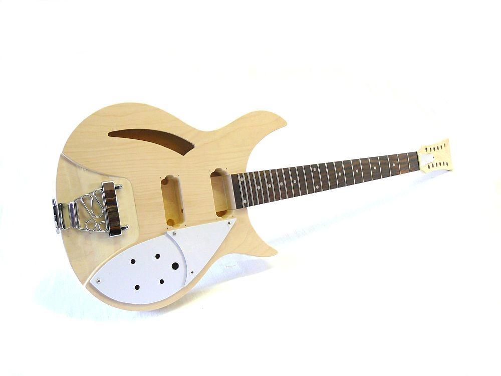 e gitarren bausatz guitar kit mlr hollowbody 12 saitig. Black Bedroom Furniture Sets. Home Design Ideas
