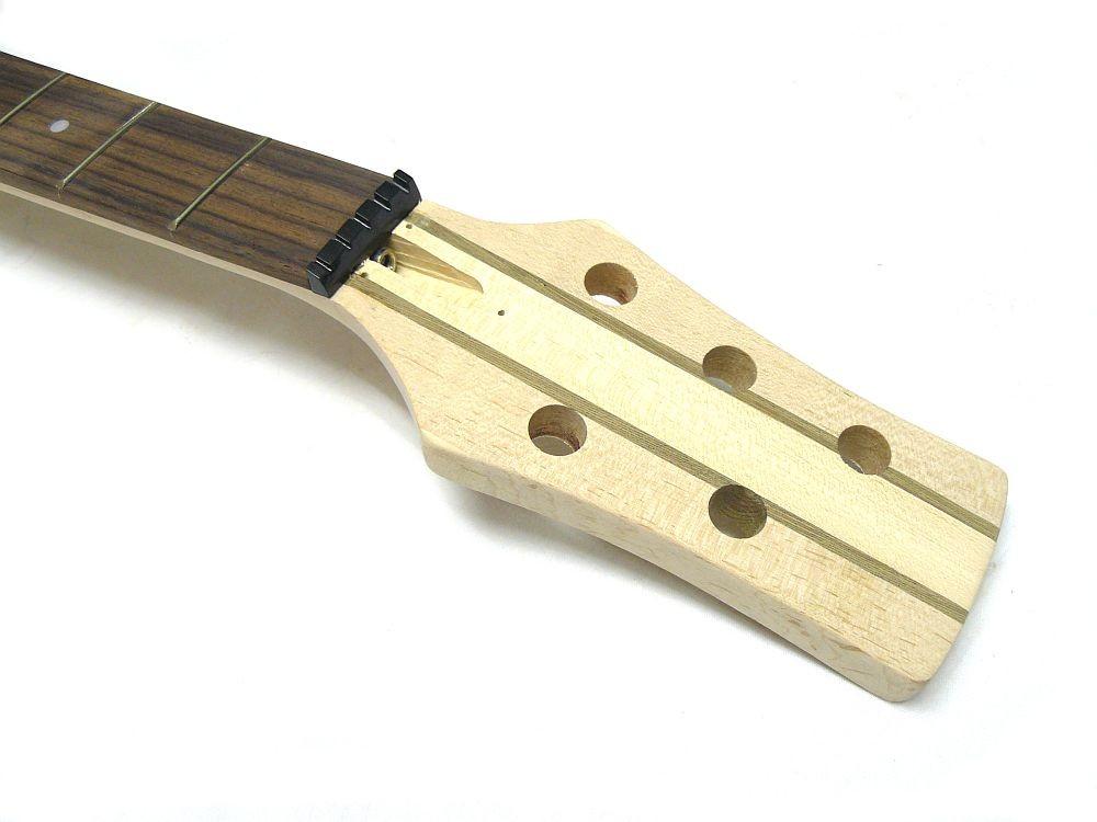 aktiver 5 Saiter E-Bass Bausatz Through Neck Esche Body