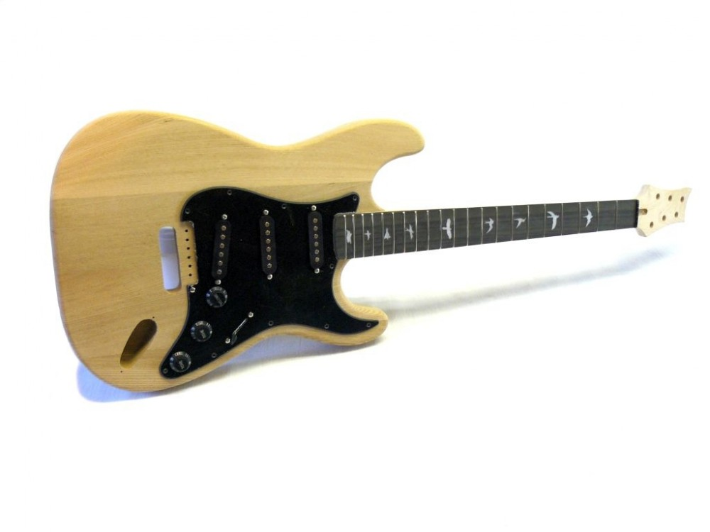 E-Gitarren Bausatz Guitar Kit MLS Sky Bird Ash