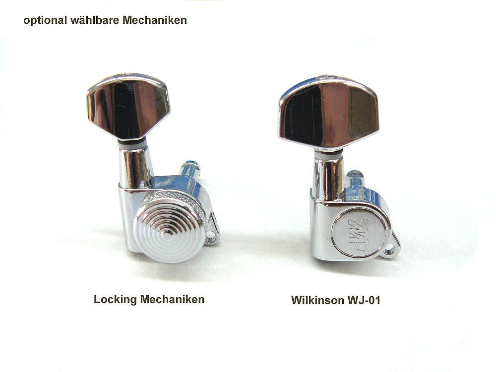 3x Locking Nut Klemmsattel Klemmsattel /& Schrauben Für Tremolo Brückenteile