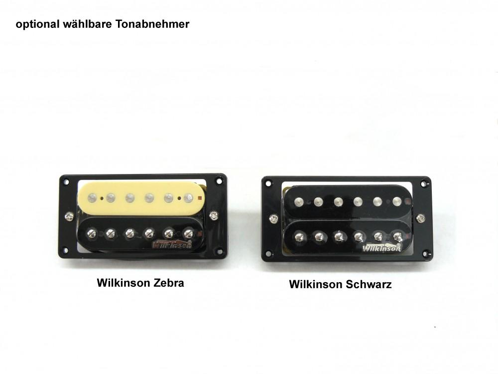 E-Gitarren Bausatz Guitar Kit Explorer Style