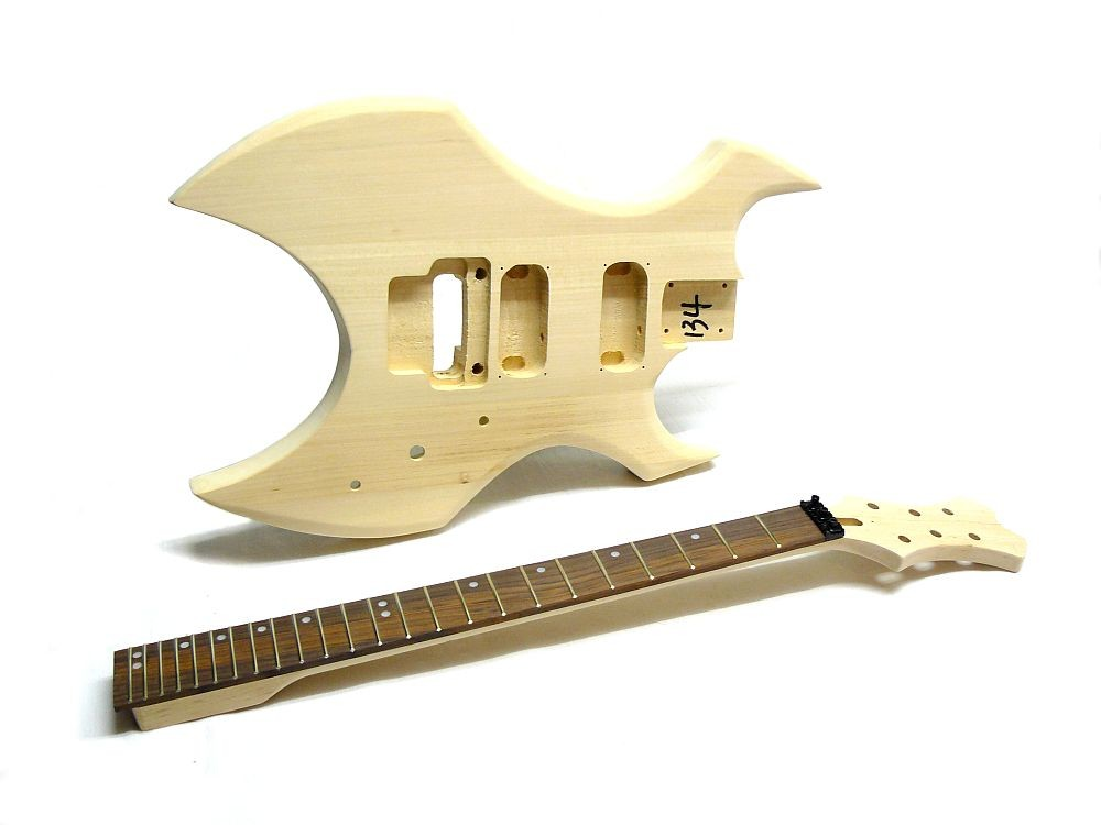 e gitarren bausatz guitar kit metal style iii. Black Bedroom Furniture Sets. Home Design Ideas