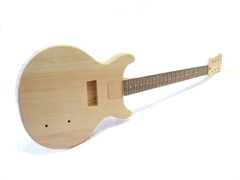 E-Gitarren Bausatz Guitar Kit LP Junior Style Double Cutaway