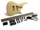 E-Bass-Bausatz/Guitar Kit Iban. SR-Style 5-Saiter Esche