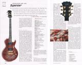 E-Gitarre Spear Monkey Signature SHL 1Q 2H Dark Red