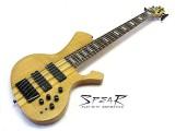 6-Saiter E-Bass SPEAR S-2 6 ST Hochglanz Natur