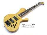 5-Saiter E-Bass SPEAR S-2 5 ST Hochglanz Natur