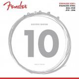 Fender E-Gitarren-Saiten stainless steel, 010-013-017-026-036-046, F-350R-B