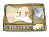 E-Gitarren-Bausatz Guitar Kit F-Bird Style Mahagoni