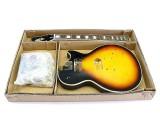 E-Gitarren-Bausatz MLP custom-Style Mahagoni Tobacco Sunburst geriegelt
