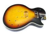 E-Gitarren-Body / Korpus III Mahagoni Tobacco Sunburst geriegelt