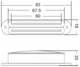 VIVA SB 103 WH Twin Blade Humbucker im Single Coil Format