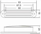 VIVA SB 103 BK Twin Blade Humbucker im Single Coil Format