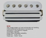 VIVA SHB Ceramic/Alnico Humbucker/Single Coil Combi WH