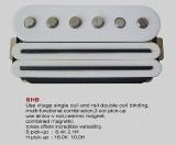 VIVA SHB Ceramic/Alnico Humbucker/Single Coil Combi WH
