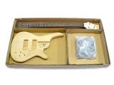 E-Bass-Bausatz/Guitar Kit Iban. SR-Style 4-Saiter Esche