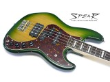Spear E-Bass FLEXTOOL Jamaika Green