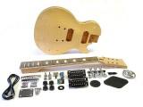 7-Saiter E-Gitarren-Bausatz LP-Style komplett Mahagoni