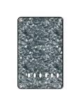 Tremolo-Abdeckung / Back Plate I 3-lagig Pearl Black