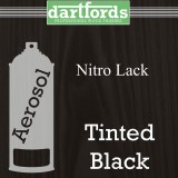 Nitrocellulose / Nitro Lack Spray 400ml transparent Schwarz