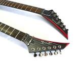 E-Gitarre SPEAR  DW-V SCARR Black
