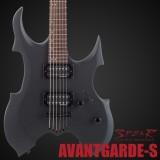 E-Gitarre SPEAR Avant Garde Gothic Black
