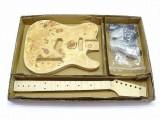 E-Gitarren-Bausatz/Guitar DIY Kit MLT Esche Wurzel Top