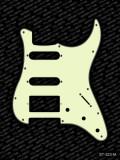 Pickguard I Standard 11-Loch 3-lagig mint HSS