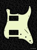 Pickguard I Standard 11-Loch 3-lagig mint H-H