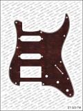 Pickguard I Standard 11-Loch 3-lagig Tortoise medium HSS