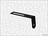 Pickguard/Schlagbrett Bügel für LP-Style in schwarz