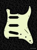 Pickguard I Standard 11-Loch 3-lagig mint