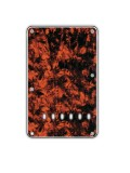 Tremolo-Abdeckung / Back Plate I 3-lagig  Marble Orange