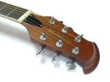 Roundback-Gitarre  ML-Factory MLO-C 1 Black mit Tonabnehmer
