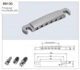 Alu Stop Tailpiece / Saitenhalter chrom
