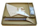 E-Gitarren-Bausatz Explorer-Style II Custom Mahagoni