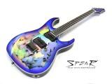 E-Gitarre Spear Gladius HG Hologram