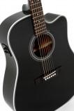 Western-Gitarre Sigma DMC-1STE Black