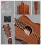Travel / Reise-Gitarre Sigma TM-15E incl. Gigbag