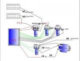 aktiver 6-Saiter E-Bass-Bausatz Through Neck, Esche Body