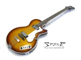 Spear E-Bass RDB Shortscale Honey Burst