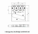 Vintage Bridge BT 005 gold 3 Reiter, Made in Korea