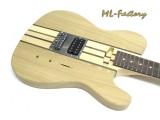 E-Gitarren-Bausatz Guitar Kit ML Factory Tèstrado Through Neck Esche