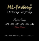 E-Gitarren Saiten ML-Factory Light 10-46