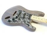 E-Gitarren-Bausatz Guitar Kit ML Factory Zèstrado, Body aus Zebrano