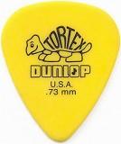 Dunlop Tortex Standard Plektrum, Größe 0.73