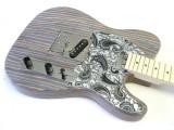 E-Gitarren-Bausatz ML Factory Zèstrado II M Body aus Zebrano