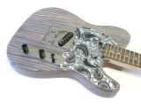 E-Gitarren-Bausatz ML Factory Zèstrado II R Body aus Zebrano